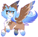 [Commission] Flying Glitter Pone