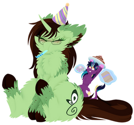 Big Fluffy Birthday by VanillaSwirl6