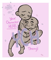 In your arms YCH ( OPEN ) Set Price $20 by Shemji-Adopts