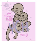 In your arms YCH ( OPEN ) Set Price $20