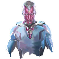 Paul Bettany as Vision from Age of Ultron