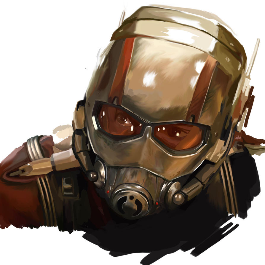 Paul Rudd as Ant-Man by danomano65