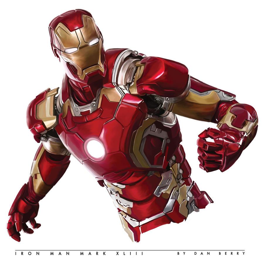 Iron Man Mark XLIII by danomano65