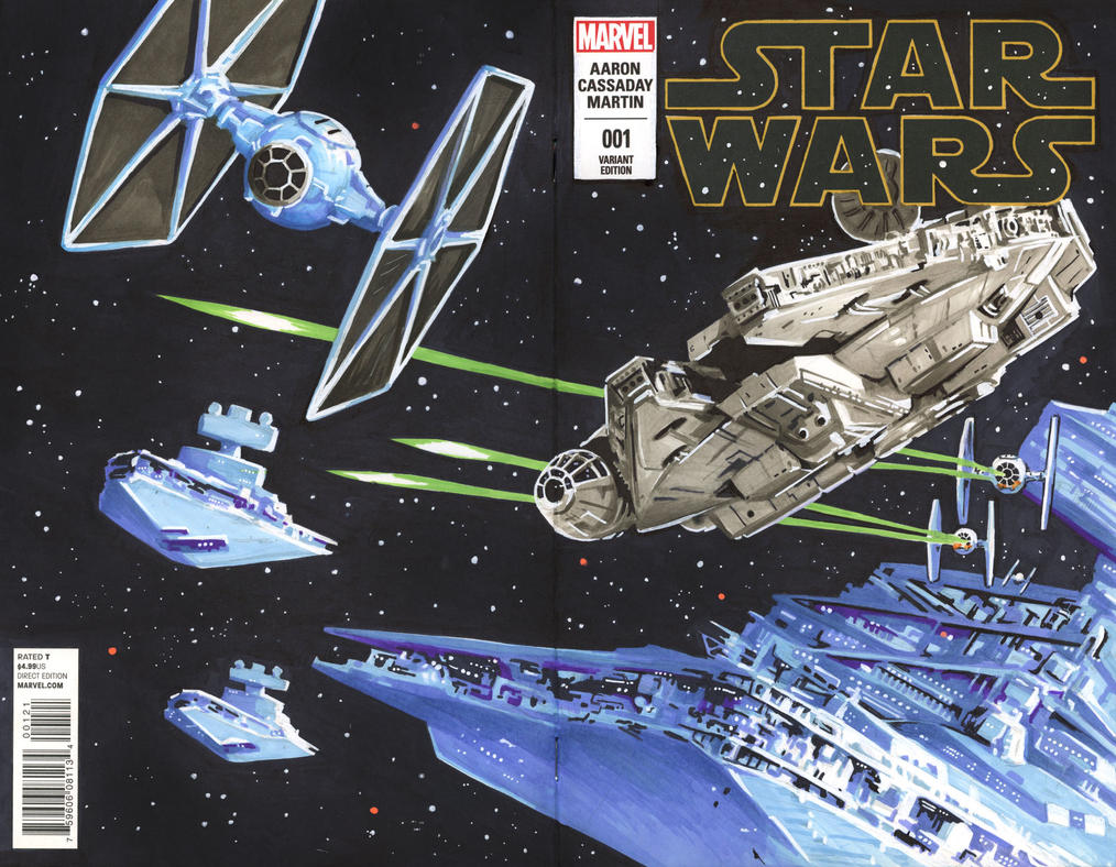 Star Wars Issue 1 Variant 1 by danomano65