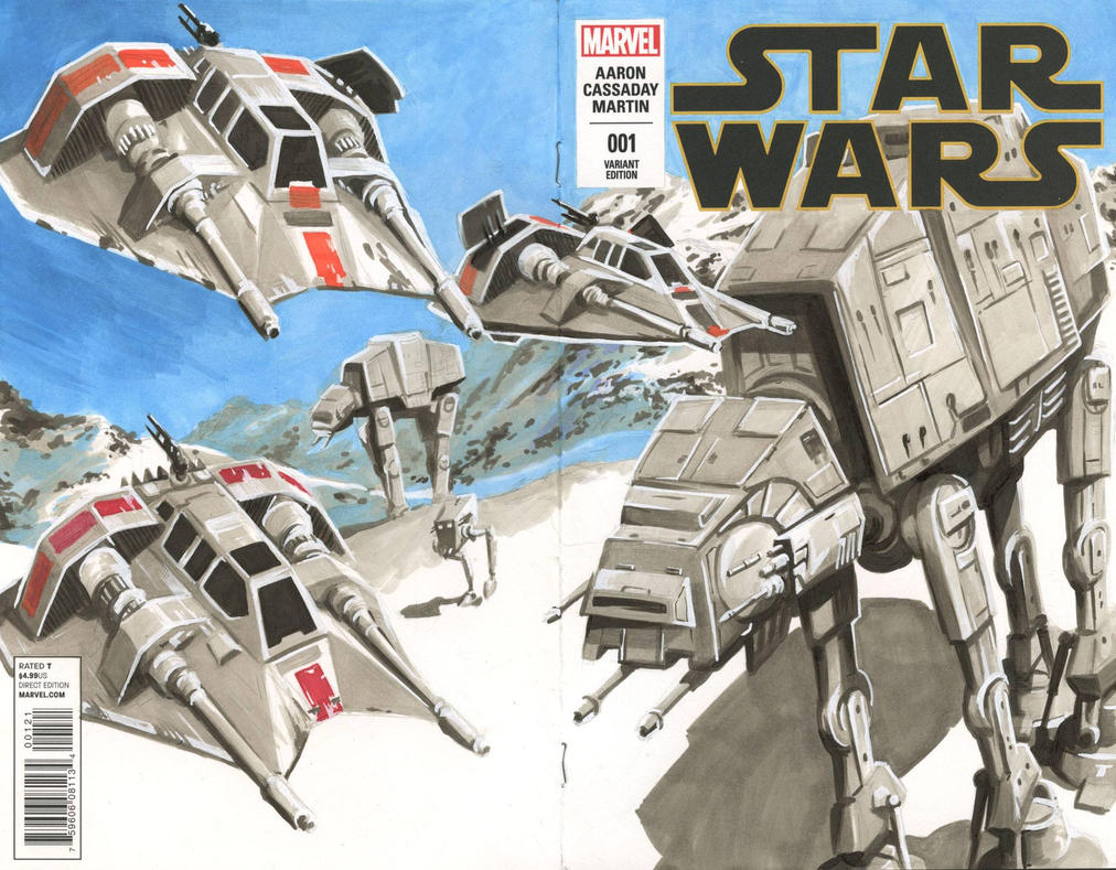 Star Wars Issue 1 Variant 3 by danomano65