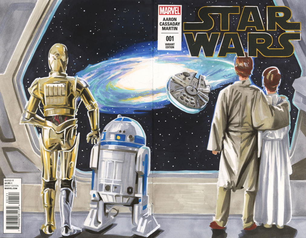 Star Wars Issue 1 Variant 4 by danomano65