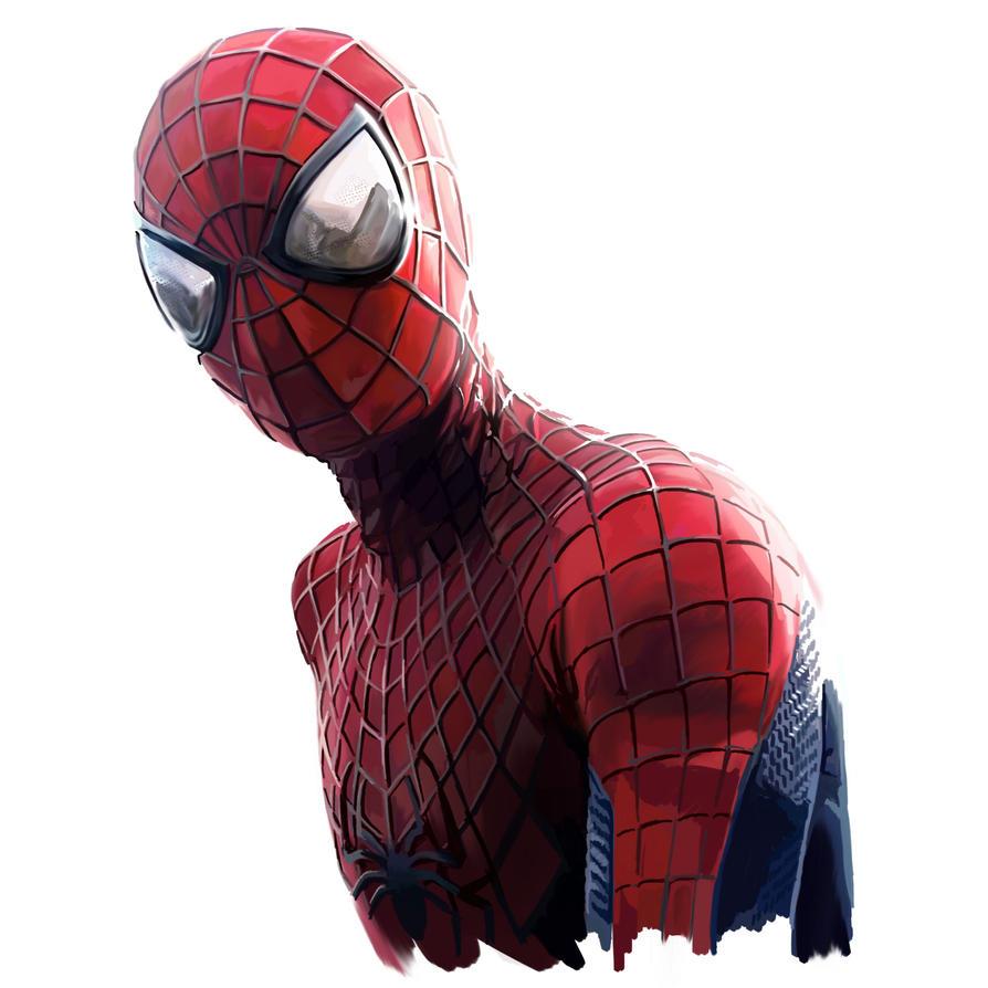 Spider-Man Digital Painting by danomano65