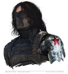 Winter Soldier Digital Painting
