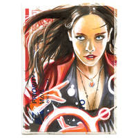 Copic Scarlet Witch on a 228