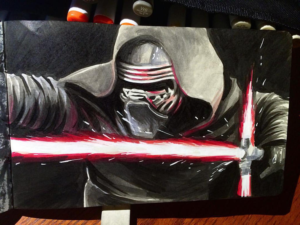 Star Wars Daily Sketch 8 by danomano65