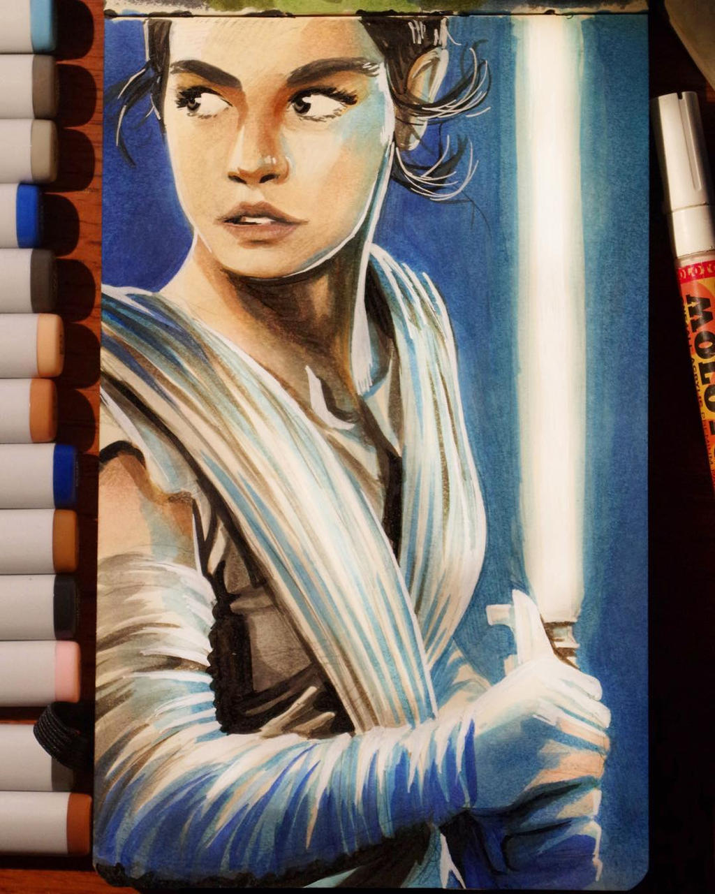 Star Wars Daily Sketch 12 by danomano65