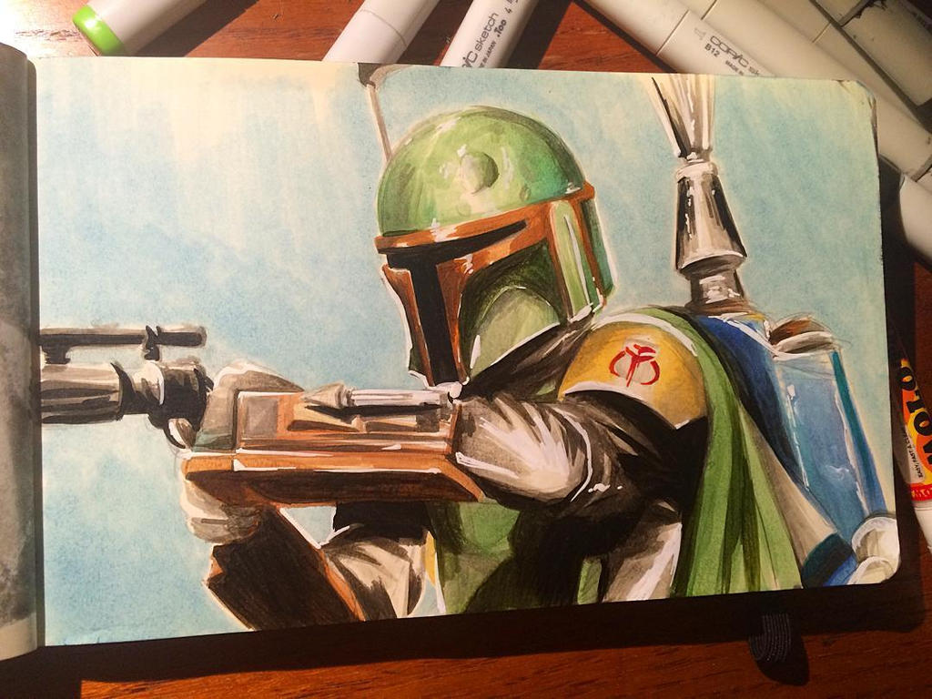Star Wars Daily Sketch 16 by danomano65