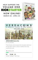 VERDACOMB Volume One Kickstarter