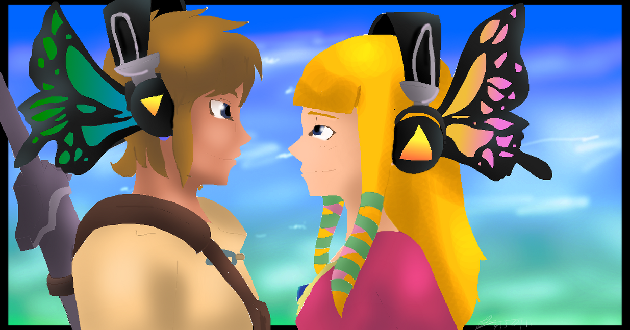 Skyward Sword- Zelink Magnet by Tron-Zelda-Legacy on ... Zelink Skyward Sword