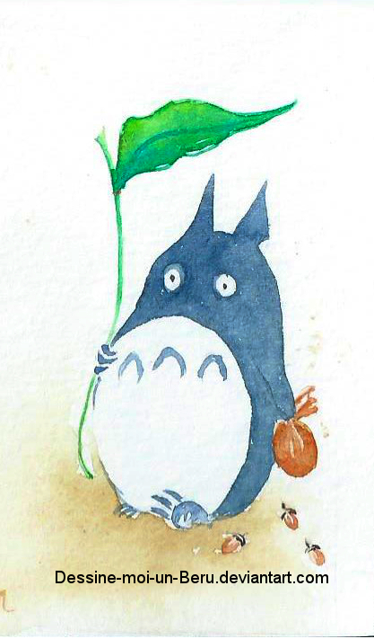Little Totoro by Dessine-moi-un-Beru