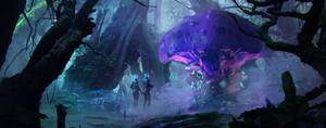 mysterious jungle by RaphaelRagimov
