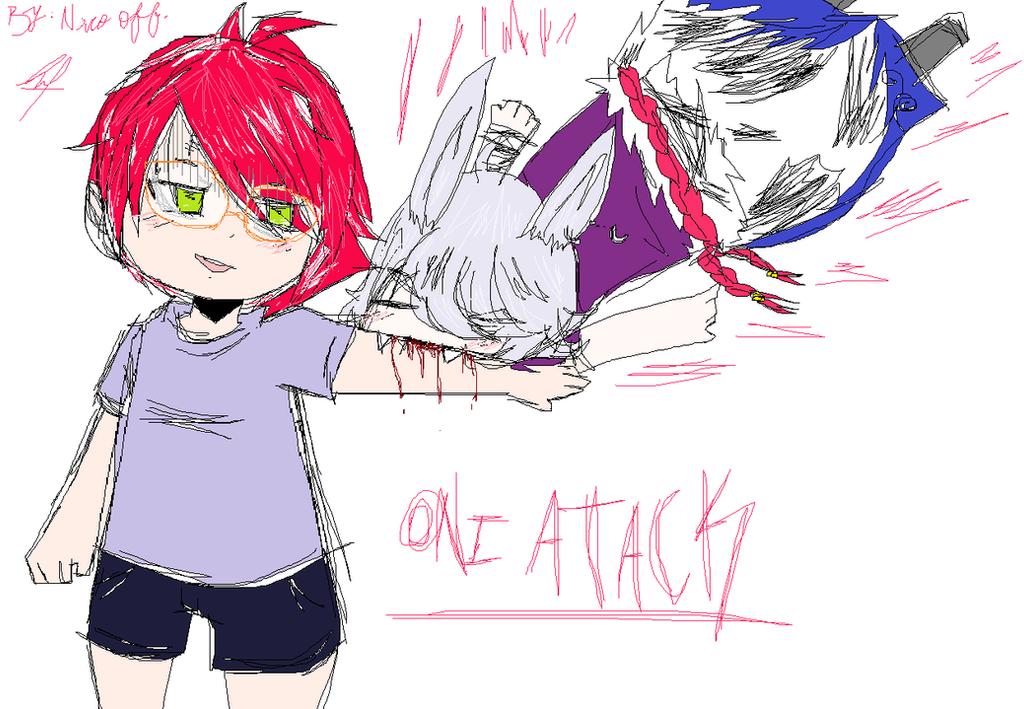 Oni Atack-Hangout by LaurePhonsekalL