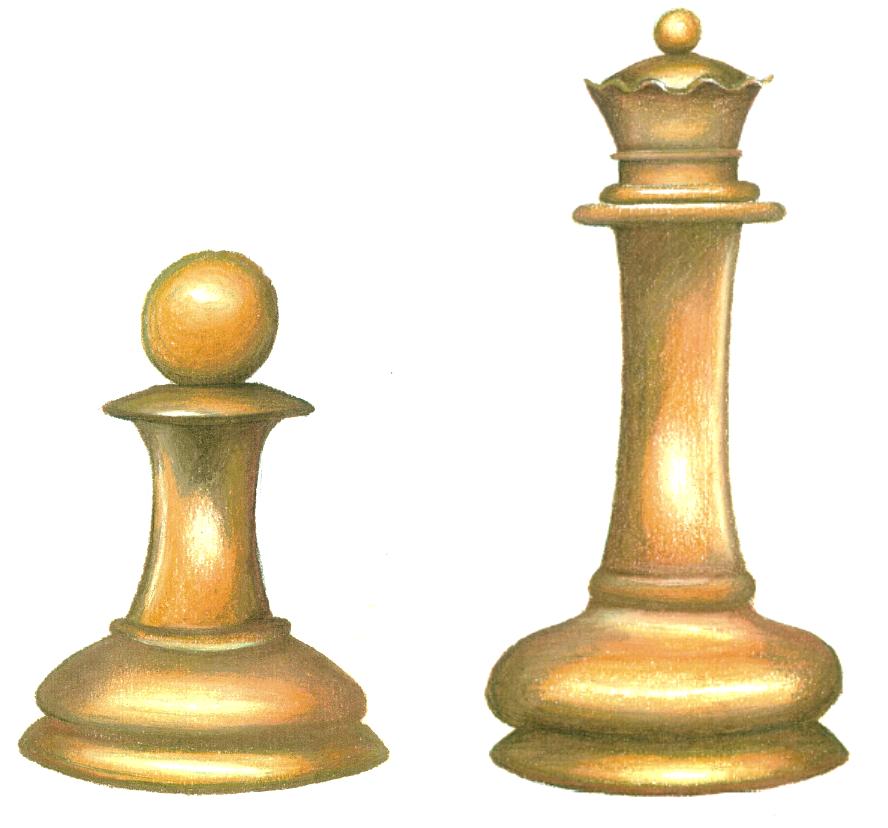 Chess pieces by diedott