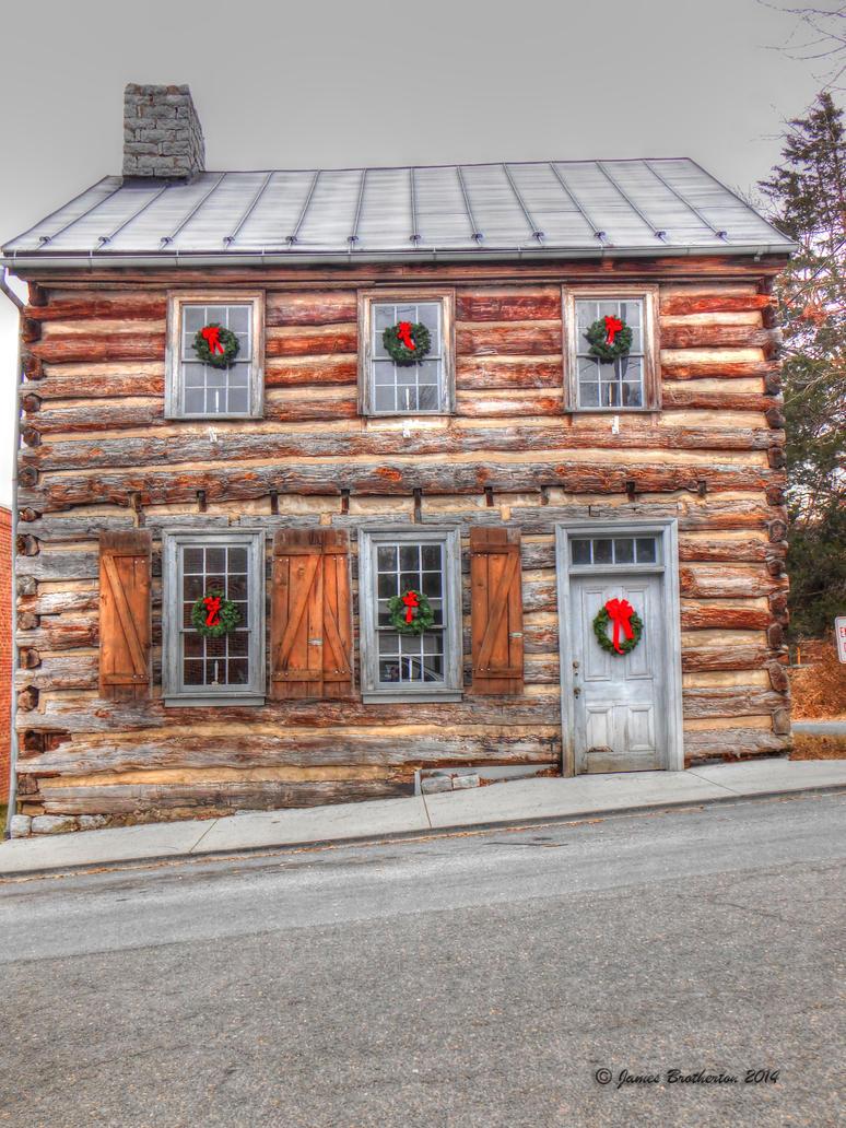 Christmas Log Cabin by jim88bro