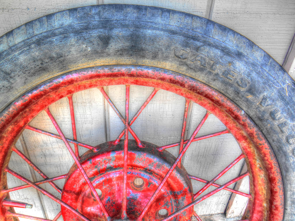 Red Spokes by jim88bro