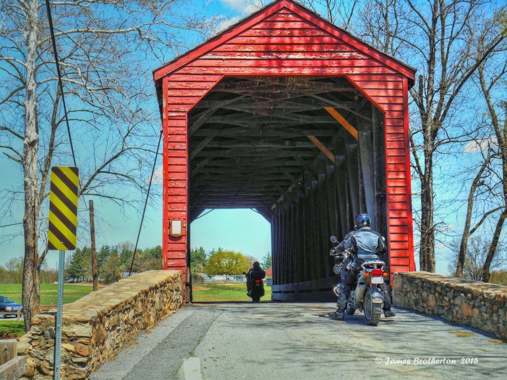Loys Station Covered Bridge by jim88bro