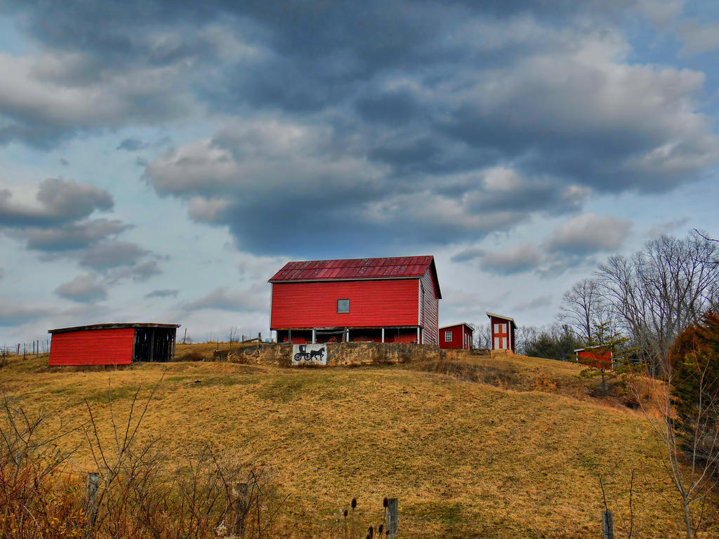 Farm On The Hill by jim88bro