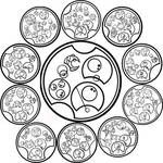 Gallifreyan: Tick Tock Poem