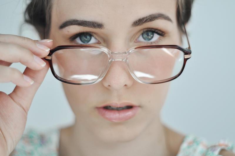 new glasses by LauraZalenga