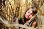 girl in the reed