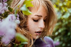lilac girl by LauraZalenga