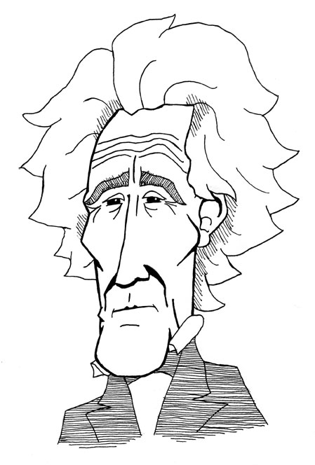 andrew jackson caricature by managerpants
