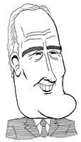 Franklin D. Roosevelt caricature