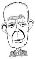 Dwight D. Eisenhower caricature