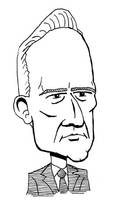 Calvin Coolidge caricature