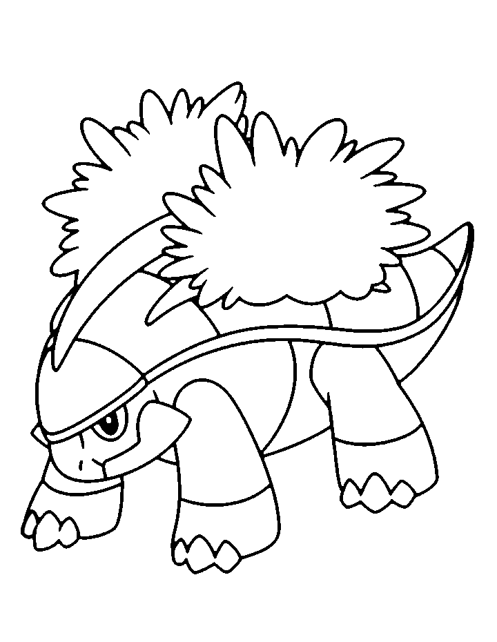pokemon torterra coloring pages - photo#45