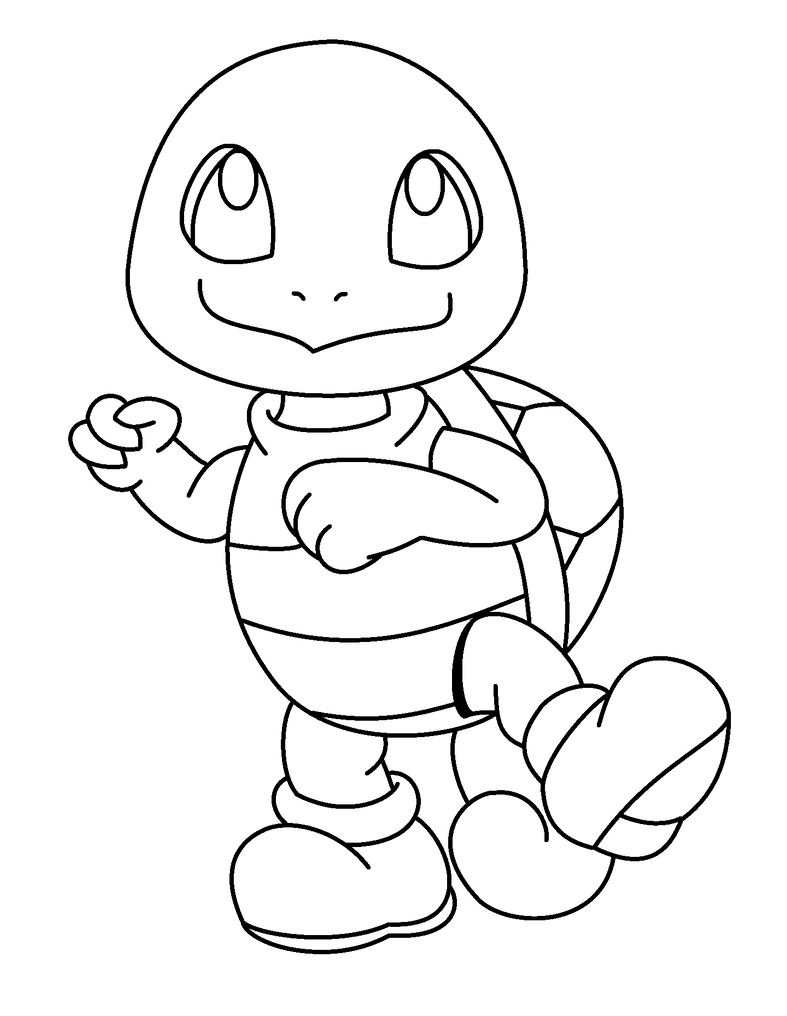 Squirtle Coloring Pages Coloring Pages Squirtle Coloring Page