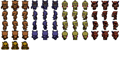 RPG Maker - Withered FNAF Characters by willer111 on DeviantArt