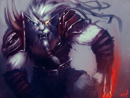 Rengar  Ready to Fight by Aths-Art