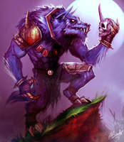 Warwick the Blood Hunter by Aths-Art