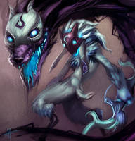 Kindred, The Eternal Hunters by Aths-Art