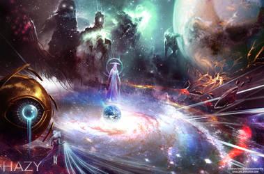 Hazy: Fate or Destiny - The Gods by Aths-Art