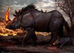 Fire Horn Rhinos