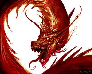 Blood Dragon by Aths-Art