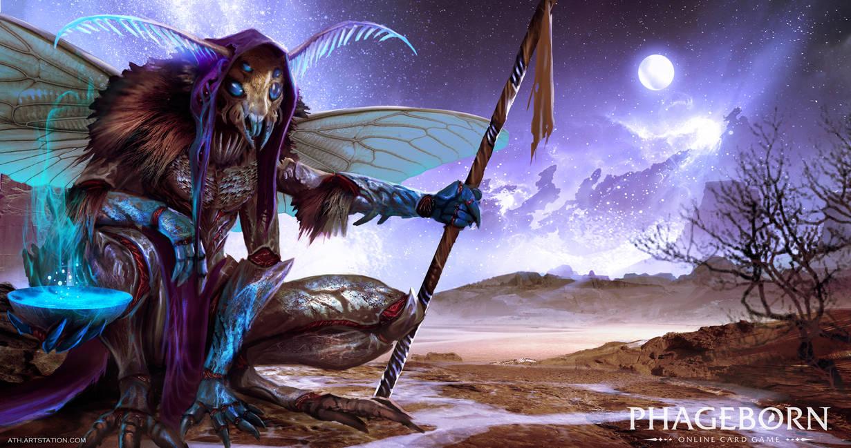 Kuxi Oracle - Phageborn by Aths-Art