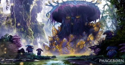 Sporelurg, the Moss Nourisher - Phageborn by Aths-Art