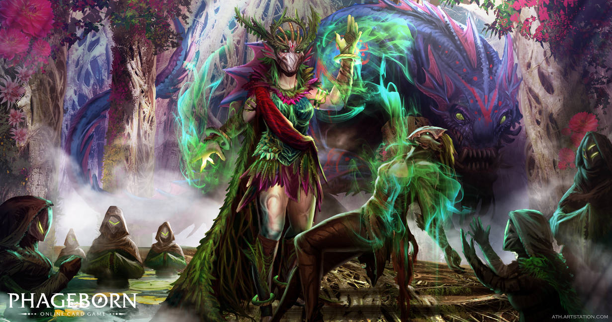 Alina, The Emerald Queen by Aths-Art
