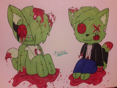 Bloody Stitch Zombies