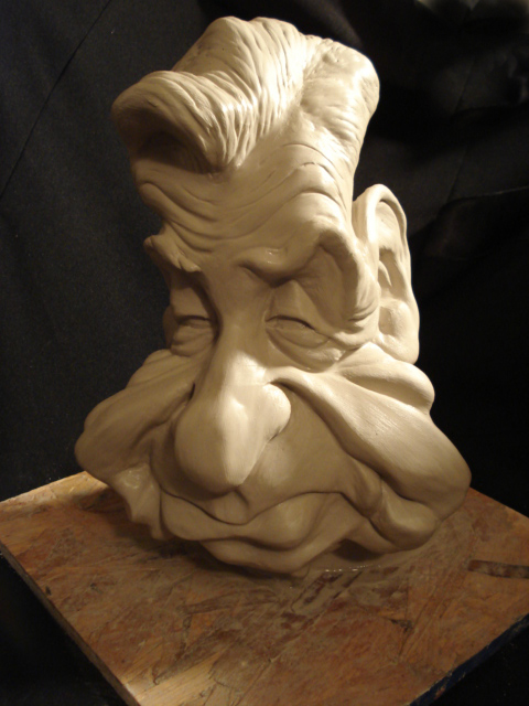 Caricature Sculpture by CrimsonArts