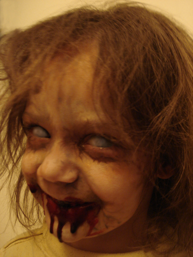 Zombie Girl by CrimsonArts