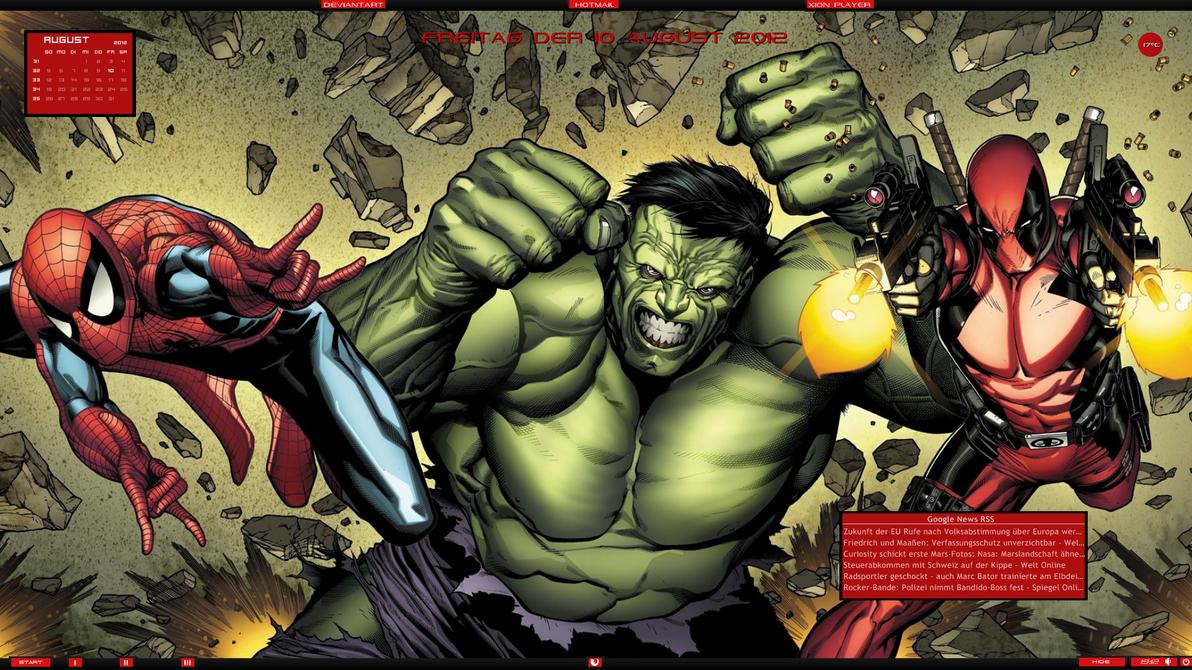 Marvel Desktop No.2  10.08.2012 by DocBerlin77